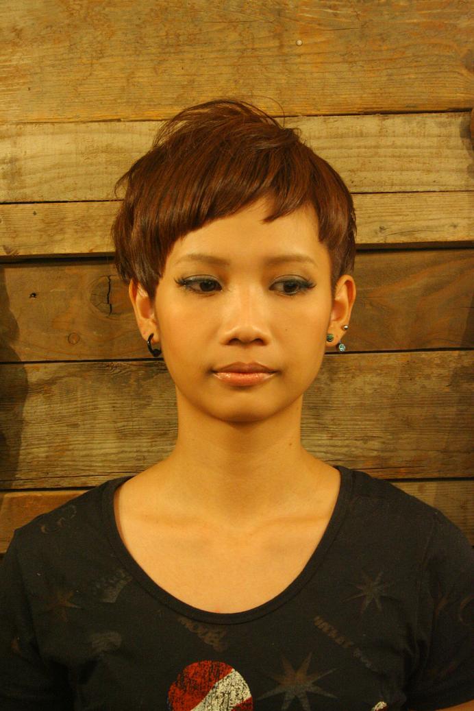 【かわいい!】 ベリーショート画像集♪ 【髪型・ヘアスタイル】